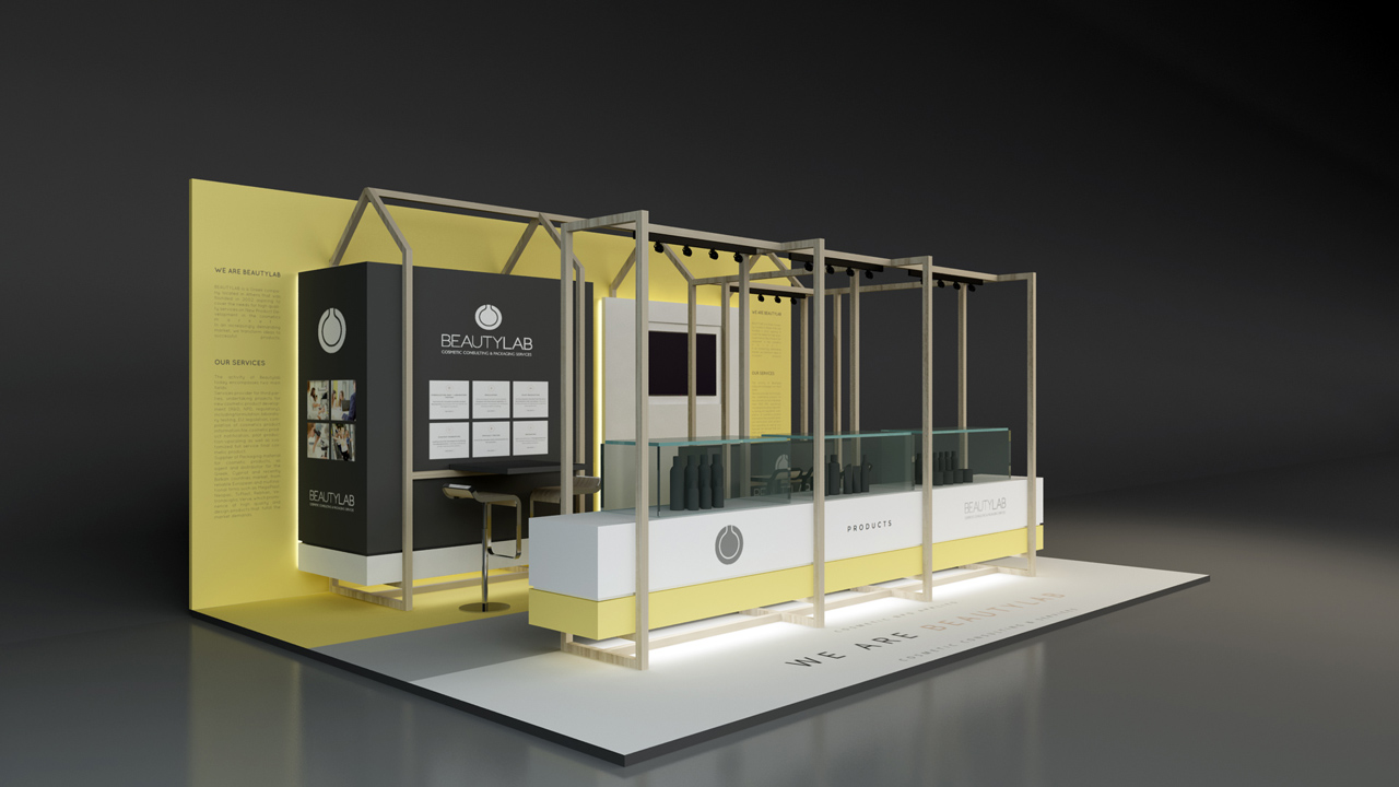 Beautylab Exhibition Stand