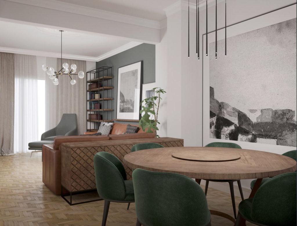 mutiny_apartment_kolonaki_patriarchou_ioakim_dining_room